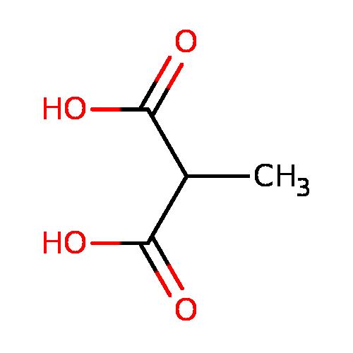 human metabolome database: showing metabocard for methylmalonic, Skeleton