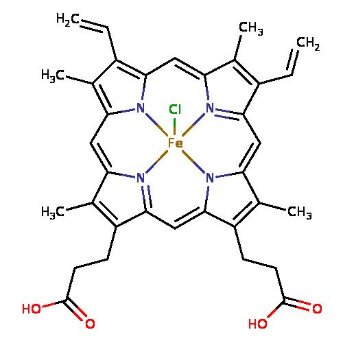 human metabolome database  showing metabocard for hemin  hmdb0000887